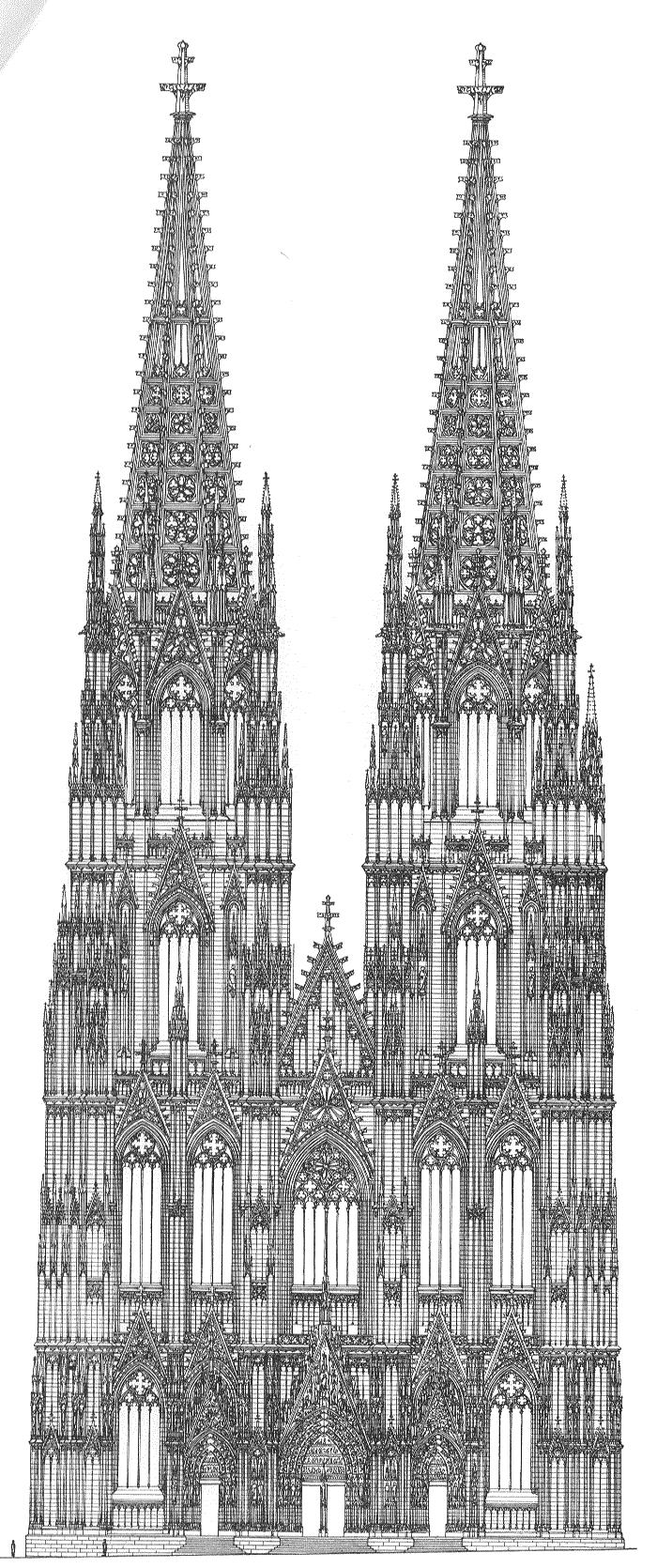 Wunderland bei Nacht: Gotik